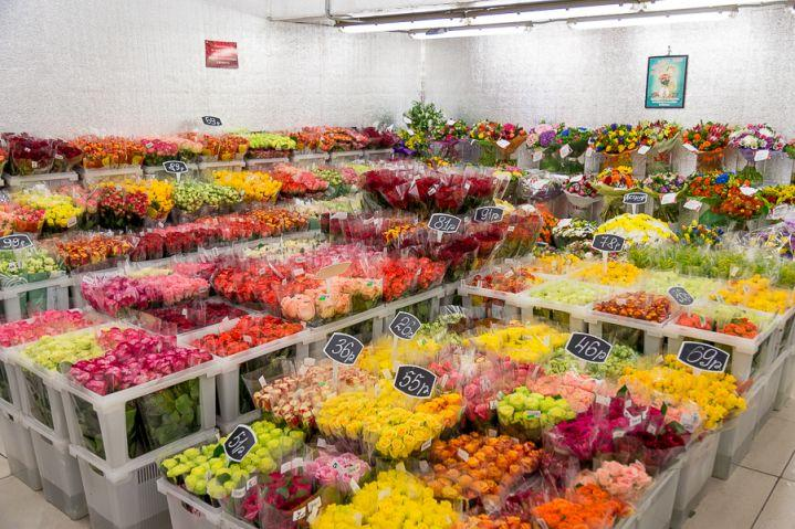 Оптовый склад цветов в Минске