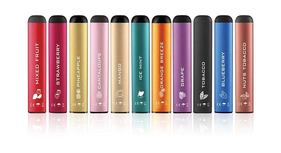 Одноразовые электронные сигареты оптом