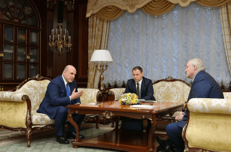 Мишустин предложил Лукашенко подумать об интеграции налоговых систем